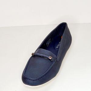 Nautica Women's Blue Slip-on Loafer Shoe